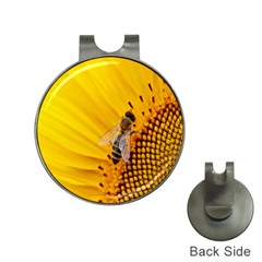 Sun Flower Bees Summer Garden Hat Clips with Golf Markers