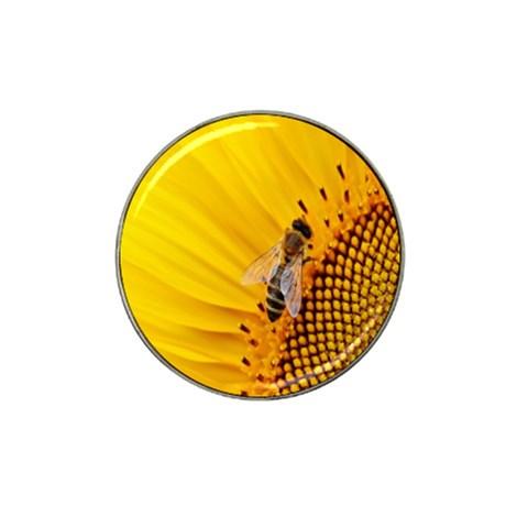 Sun Flower Bees Summer Garden Hat Clip Ball Marker