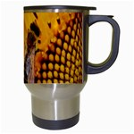 Sun Flower Bees Summer Garden Travel Mugs (White) Right
