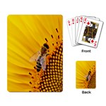 Sun Flower Bees Summer Garden Playing Card Back