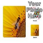 Sun Flower Bees Summer Garden Multi-purpose Cards (Rectangle)  Back 49