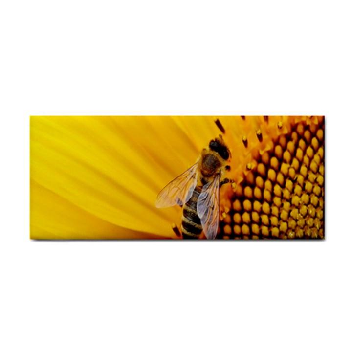 Sun Flower Bees Summer Garden Hand Towel