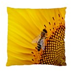 Sun Flower Bees Summer Garden Standard Cushion Case (One Side) Front
