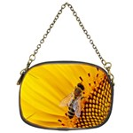 Sun Flower Bees Summer Garden Chain Purses (Two Sides)  Back