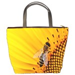 Sun Flower Bees Summer Garden Bucket Bags Back