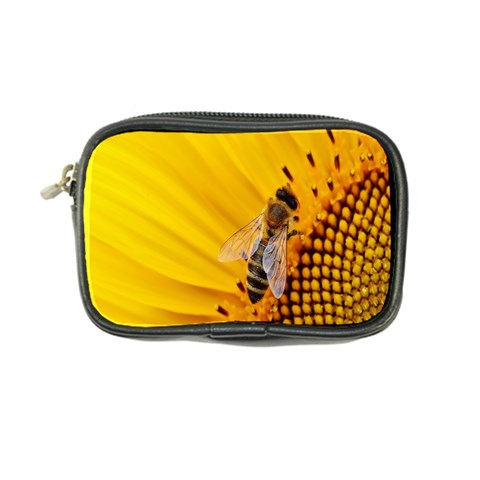 Sun Flower Bees Summer Garden Coin Purse