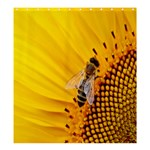 Sun Flower Bees Summer Garden Shower Curtain 66  x 72  (Large)  58.75 x64.8 Curtain