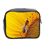 Sun Flower Bees Summer Garden Mini Toiletries Bag 2-Side Back