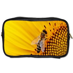 Sun Flower Bees Summer Garden Toiletries Bags