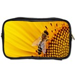Sun Flower Bees Summer Garden Toiletries Bags Front