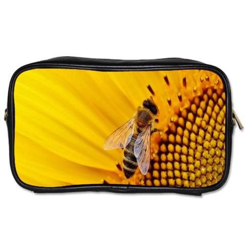 Sun Flower Bees Summer Garden Toiletries Bags 2-Side