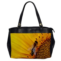 Sun Flower Bees Summer Garden Office Handbags