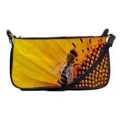 Sun Flower Bees Summer Garden Shoulder Clutch Bags