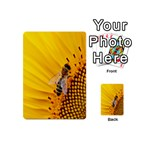 Sun Flower Bees Summer Garden Playing Cards 54 (Mini)  Back