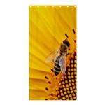 Sun Flower Bees Summer Garden Shower Curtain 36  x 72  (Stall)  33.26 x66.24 Curtain