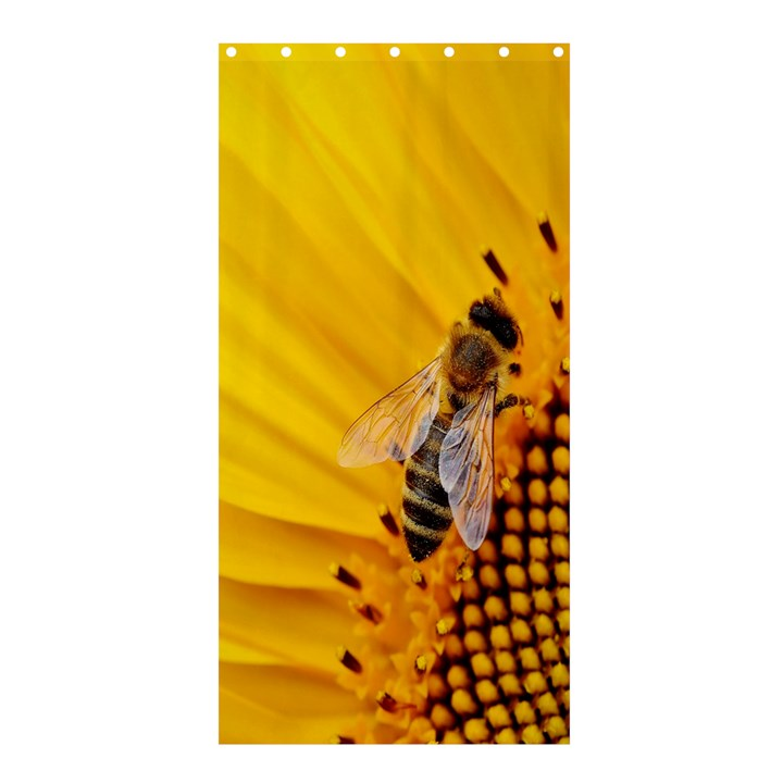 Sun Flower Bees Summer Garden Shower Curtain 36  x 72  (Stall)