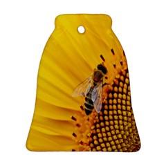 Sun Flower Bees Summer Garden Ornament (Bell)