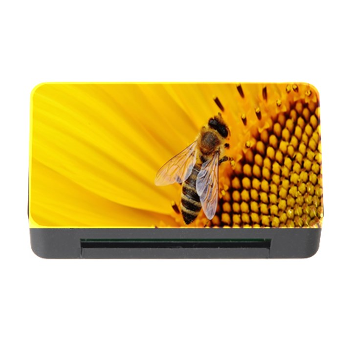Sun Flower Bees Summer Garden Memory Card Reader with CF