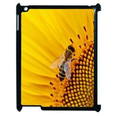 Sun Flower Bees Summer Garden Apple iPad 2 Case (Black)