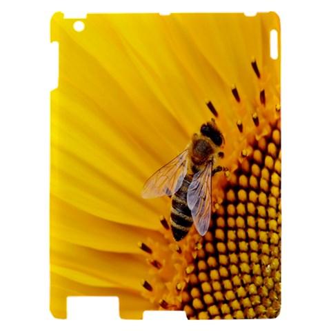 Sun Flower Bees Summer Garden Apple iPad 2 Hardshell Case