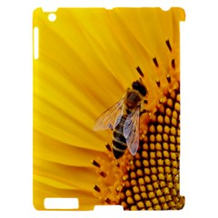 Sun Flower Bees Summer Garden Apple iPad 2 Hardshell Case (Compatible with Smart Cover)