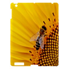 Sun Flower Bees Summer Garden Apple iPad 3/4 Hardshell Case