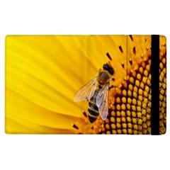 Sun Flower Bees Summer Garden Apple iPad 3/4 Flip Case
