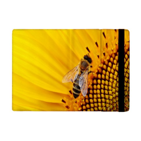 Sun Flower Bees Summer Garden Apple iPad Mini Flip Case