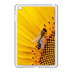 Sun Flower Bees Summer Garden Apple iPad Mini Case (White)