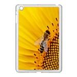 Sun Flower Bees Summer Garden Apple iPad Mini Case (White) Front