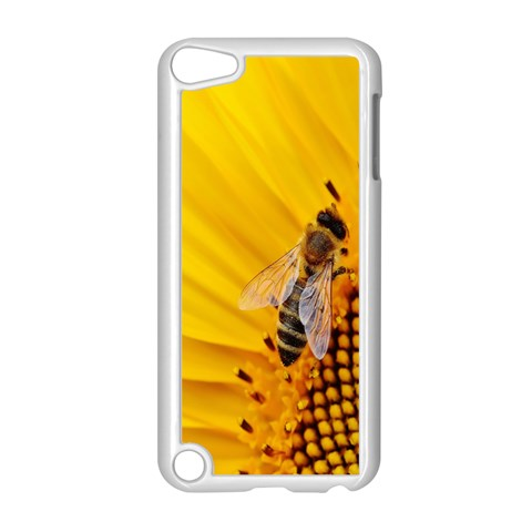 Sun Flower Bees Summer Garden Apple iPod Touch 5 Case (White)
