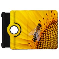 Sun Flower Bees Summer Garden Kindle Fire HD Flip 360 Case