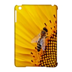 Sun Flower Bees Summer Garden Apple iPad Mini Hardshell Case (Compatible with Smart Cover)