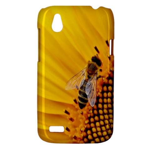 Sun Flower Bees Summer Garden HTC Desire V (T328W) Hardshell Case