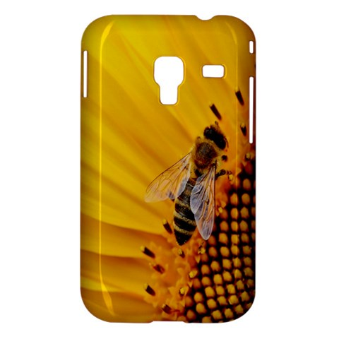 Sun Flower Bees Summer Garden Samsung Galaxy Ace Plus S7500 Hardshell Case