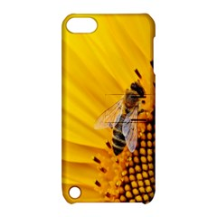 Sun Flower Bees Summer Garden Apple iPod Touch 5 Hardshell Case with Stand