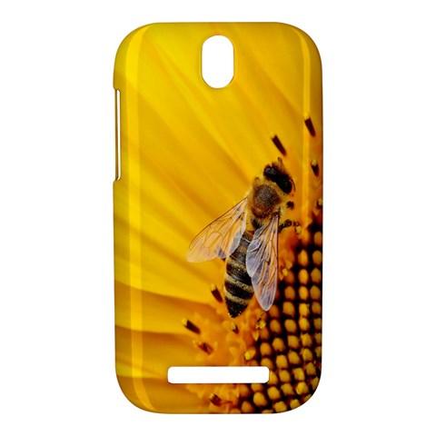 Sun Flower Bees Summer Garden HTC One SV Hardshell Case