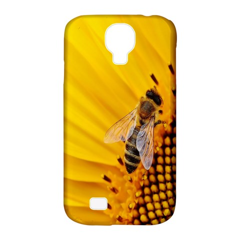 Sun Flower Bees Summer Garden Samsung Galaxy S4 Classic Hardshell Case (PC+Silicone)