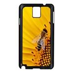 Sun Flower Bees Summer Garden Samsung Galaxy Note 3 N9005 Case (Black) Front