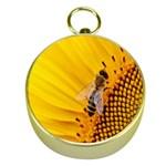 Sun Flower Bees Summer Garden Gold Compasses Front