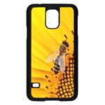 Sun Flower Bees Summer Garden Samsung Galaxy S5 Case (Black) Front
