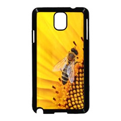 Sun Flower Bees Summer Garden Samsung Galaxy Note 3 Neo Hardshell Case (Black)