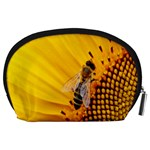 Sun Flower Bees Summer Garden Accessory Pouches (Large)  Back