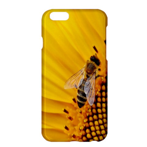 Sun Flower Bees Summer Garden Apple iPhone 6 Plus/6S Plus Hardshell Case