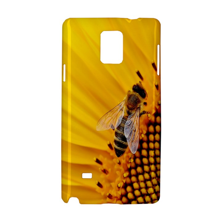 Sun Flower Bees Summer Garden Samsung Galaxy Note 4 Hardshell Case