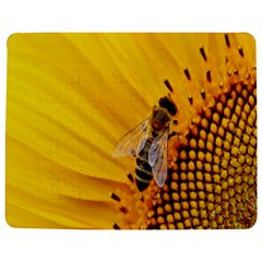 Sun Flower Bees Summer Garden Jigsaw Puzzle Photo Stand (Rectangular)