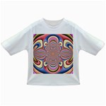 Pastel Shades Ornamental Flower Infant/Toddler T-Shirts Front