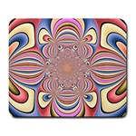 Pastel Shades Ornamental Flower Large Mousepads Front