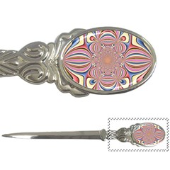 Pastel Shades Ornamental Flower Letter Openers