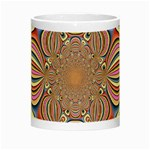 Pastel Shades Ornamental Flower Night Luminous Mugs Center